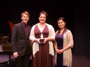 Our Award Winners: Daniel Moody (2nd place), Chelsea Morris (1st place and Audience Favorite), and Yukie Sato (3rd place).