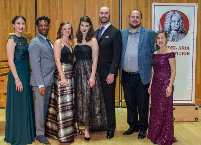 Handel Aria Competition 2019 7 Finalists