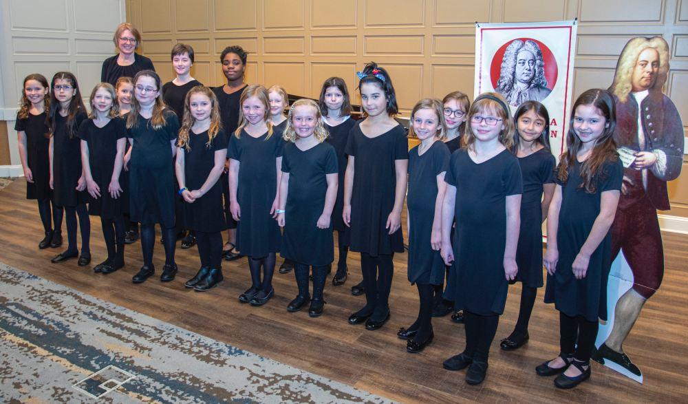 Handels HS Singers Showcase-Choraliers