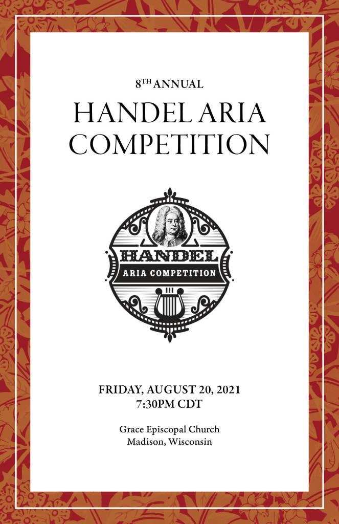 8th Annual Handel Aria Competition Program